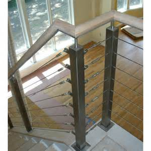 Steel Cable Handrail Stair Design Stainless Steel Cable Railing System China