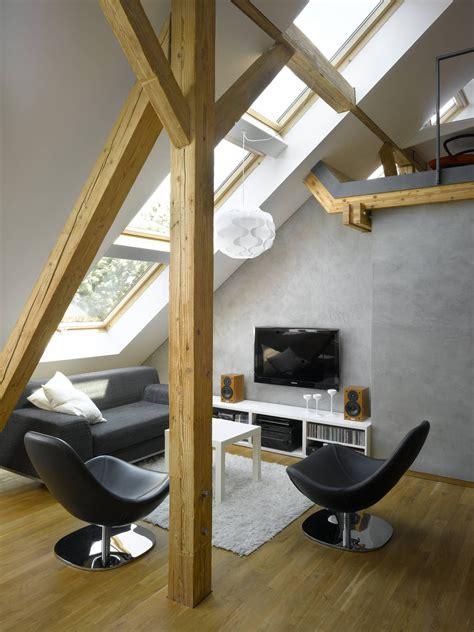 attic loft small attic loft apartment in prague idesignarch