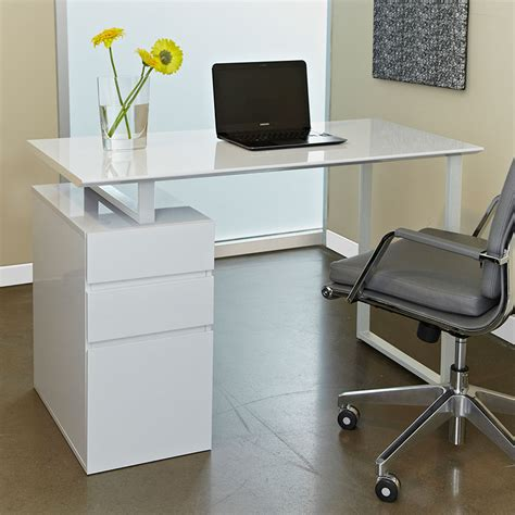200 Series 48 Modern Study Desk File White White Study Desk
