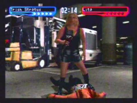 trish stratus smackdown 2 smackdown 2 know your role trish stratus vs lita wmv youtube