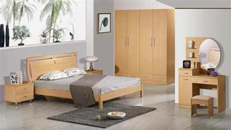 china mdf bedroom furniture 6632 china bed wardrobe