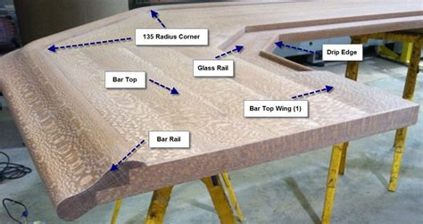 bar top rail bar top wings bar building supplies hardwoods incorporated