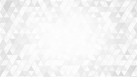White Pattern geometric pattern of white triangles loop motion