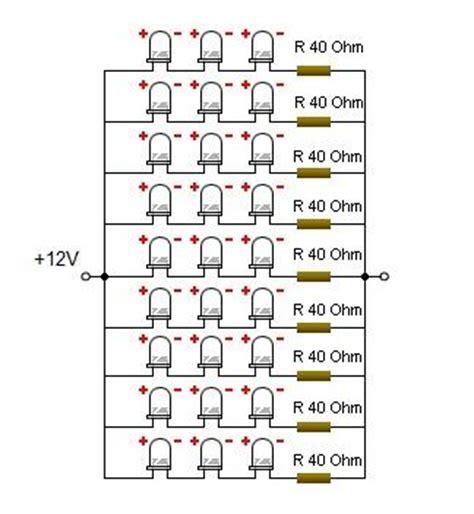 Led Putih menghitung resistor led putih bright white led kickuctutorial rangkaian listrik pcb