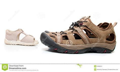 Nature Sandal Slippers Shoe Sandals Tropical Style Sandals brown sandals stock photography cartoondealer