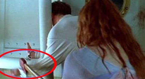 titanic film hot shot 12 weird things spotted in movies background that you