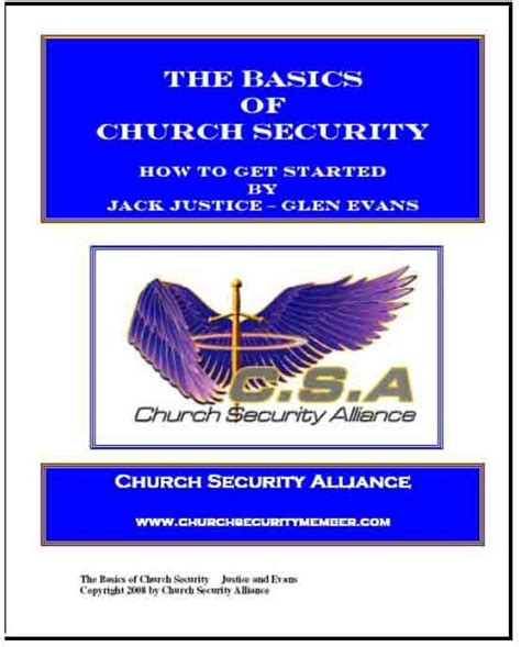 church security training manual security guards companies