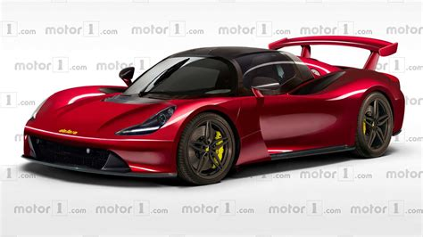 road car dallara road car comes to in speculative render