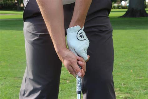 strong golf grip swing how to grip a golf club properly the right way ubergolf