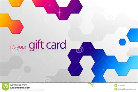 Rainbow Gift Card - rainbow elements gift card royalty free stock images image 20256089