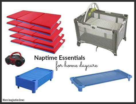 must supplies for home daycare providers where