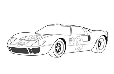 Ford Gt Coloring Pages Coloring Pages Gt Coloring Pages