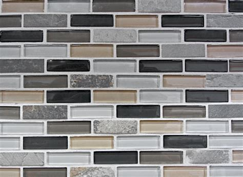 Kitchen With Glass Tile Backsplash by Mosaic Wall Tile Texture Set Yvelle Design Eye