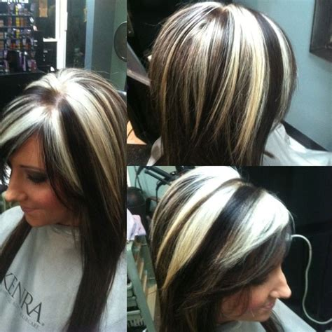 chunky hair style and color best 20 blonde highlights underneath ideas on pinterest