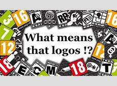 What means that logos !? (pegi & ESRB) - YouTube Gaming Logos For Free