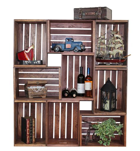 Antique Stackable Bookcase 16 Handy Diy Projects From Old Wooden Crates Style