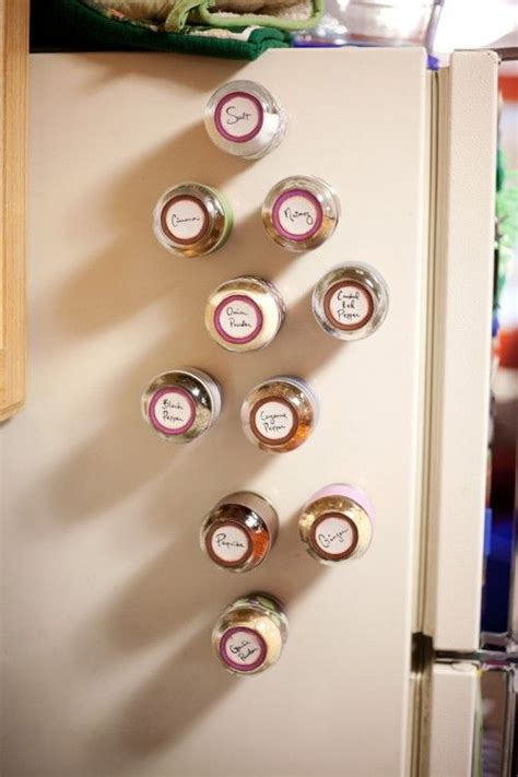 Baby Food Jar Spice Rack diy spice rack made of baby food jars things to make