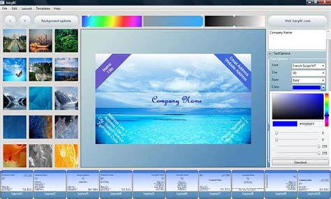 Visiting Card Design Software Free