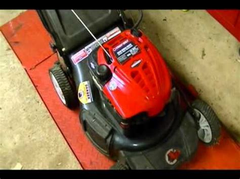 gas lawnmower   octane dieseling due  engine temp doovi