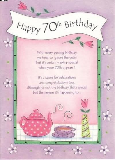 verse for 70th birthday card 70th birthday cards jpg 400 215 556 pixels craft