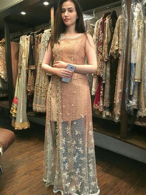 javed pakistani dress design party wear dresses