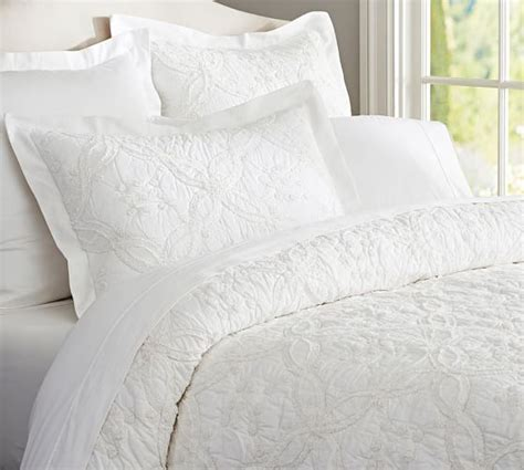 White Quilt by Candlewick Quilt Sham White Pottery Barn