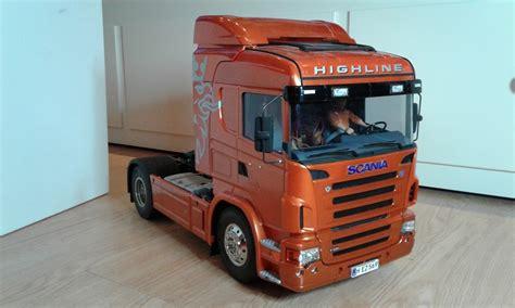 Lkw Armaturenbrett Lackieren by Tamiya Scania R 470 Highline Orange Im Ruhrgebiet Scania
