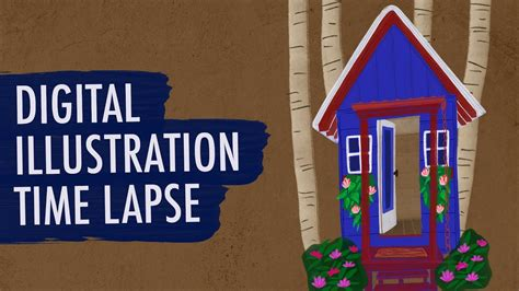 tutorial video time lapse illustration time lapse illustration tutorial youtube