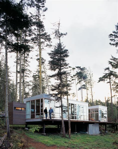 washington state house washington state vacation home sets the stage dwell
