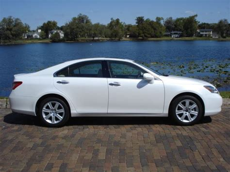 lexus es white winter park sales sold 2008 lexus es 350 sedan 27 999 sold
