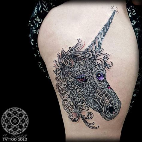 tattoo mandala animal mosaic unicorn http tattooideas247 com mosaic unicorn