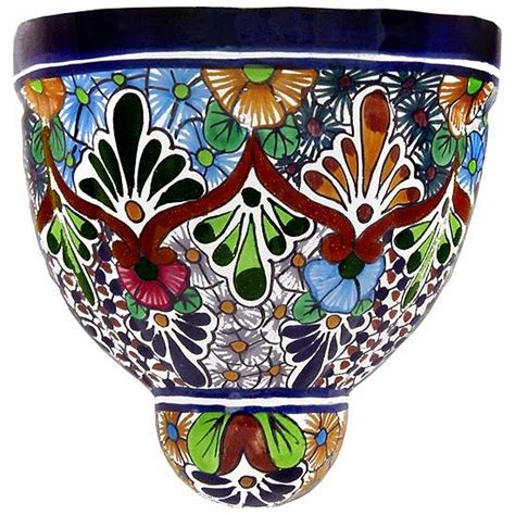 Mexican Wall Planters talavera wall planters collection talavera wall planter twp170