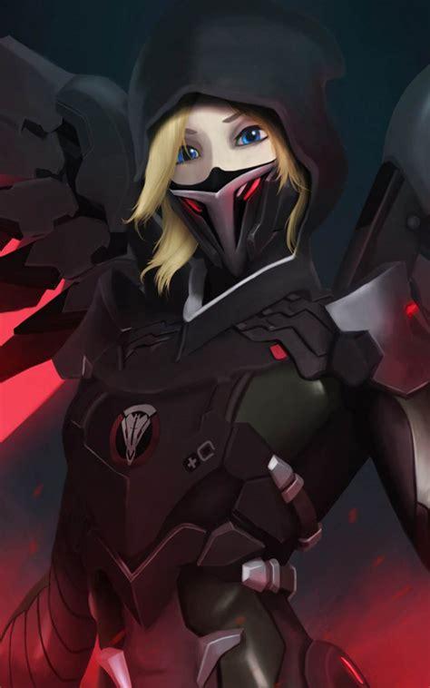 Mercy Black blackwatch mercy overwatch free 100 hd
