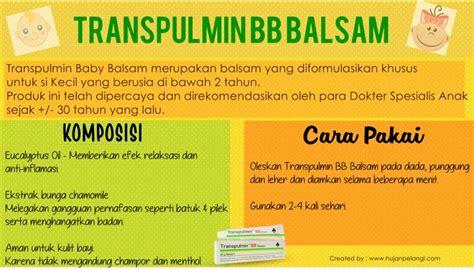 Transpulmin Balsem Bayi review transpulmin balsam hujanpelangi