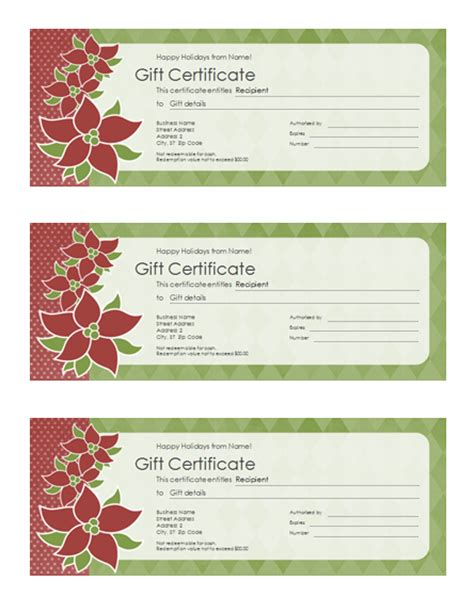 free voucher templates beautiful design template of gift voucher certificate with