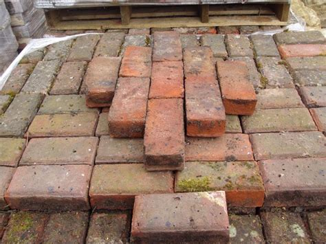 clay paving bricks authentic reclamation
