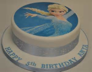 kuchen bedrucken 8 quot elsa from frozen icing print cake celebration