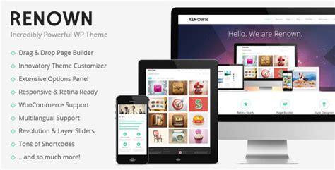 enfold theme wordpress 4 0 download free renown v1 0 4 responsive multi purpose wp