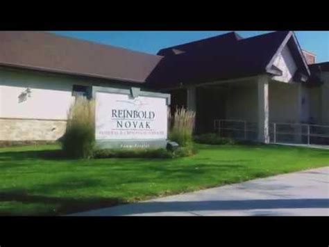 personal service reinbold novak funeral home
