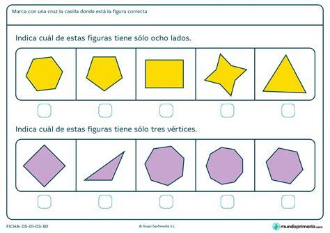 figuras geometricas lados vertices y angulos ficha de lados y v 233 rtices geom 233 tricos para primaria