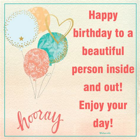 Beautiful Happy Birthday Wishes Happy Birthday To A Beautiful Person My Blog