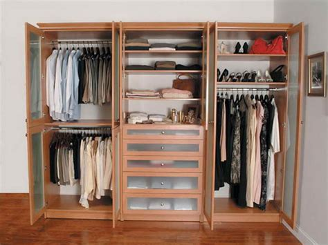 adding a separate wardrobe or closet organizer on a spare