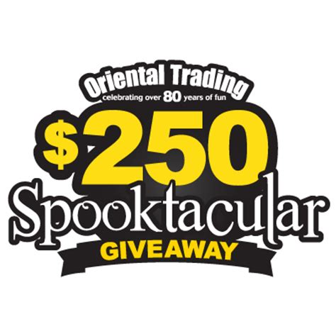 Oriental Trading Giveaway - my annual halloween party decorations from oriental trading who said nothing in