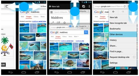 how to image search android chrome browser update bringt verbesserte