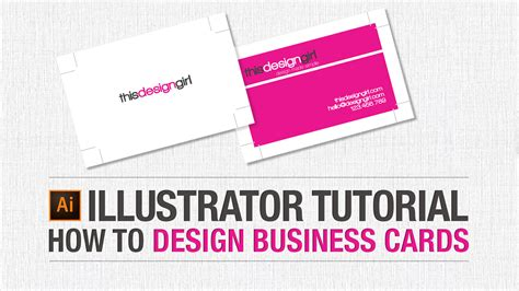 how to make business cards adobe illustrator tutorial how to design business cards