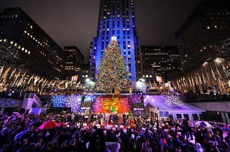 Holiday Events In Nyc And Connecticut Ct Ny Moving Lighting Of Tree Nyc 2014