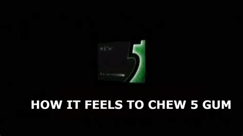5 Gum Meme - new 5 gum meme original meme youtube