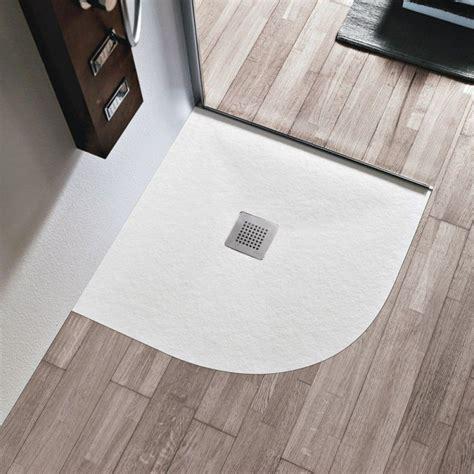 piatto doccia semicircolare piatto doccia semicircolare marmoresina 3 cm con piletta