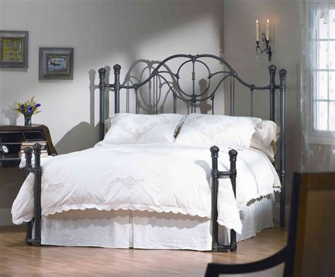 iron bed frames king wrought iron bed frame king the partizans