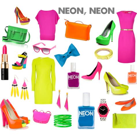 how to wear neon clothing modlychic